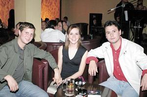 Diana Valdez, Gunther Rodríguez y Héctor Iván González