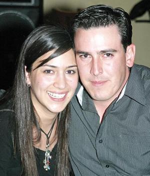 Astrid Ayup y Marcelo González