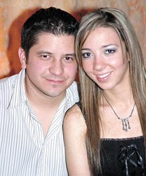 Mariana Garza y Jorge Mena