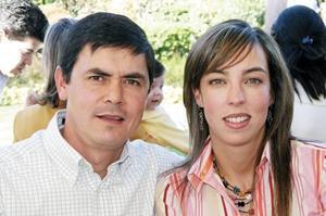 Rosario Garza de Arias y José Ramón Arias Anzures