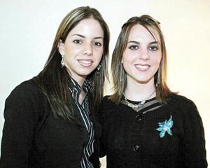 Lorena García Martínez y Sofía García de Marcos