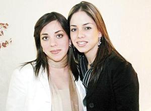 Ana Tere García de Torres y Lorena García de Martínez
