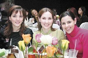 <b>TARDES DE DESPEDIDA</B> <BR>  Fernanda de del Bosque, Mariana de Portilla y Mónica de Villalobos