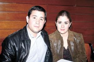 Alejandra González y Jesús Pérez
