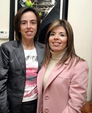 Myriam Tricio Treviño y Laura Carlos festejaron sus resoectivos cumpleaños