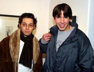 Alejandro Nuñez y Javier Román.