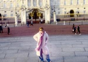 Ana Villarreal disfrutó recientemente de unas vacaciones en Londres, Inglaterra, en donde visitó el Palacio de Buckingham