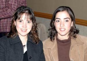 Claudia Hamdan e Ileana de Villarreal.