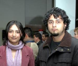 <b> 06 de febrero de 2005</b> <p> Nancy Sosa y Pablo Mercado
