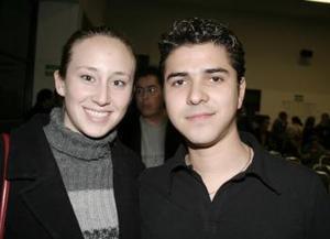 Diana Cortez y Carlos Rivera