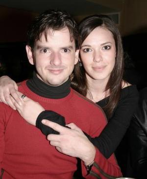 Jorge Herrera y Berenice de Herrera.
