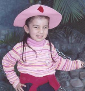 Ana Sofía Blanco Dorado cumplió alños.