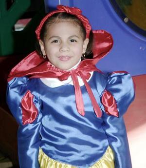 Luisa Fernanda Jaramillo Antúnez cumplió cuatro años de vida el pasado 29 de enero.