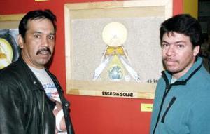 Adrián Ceniceros y Moisés Ceniceros.