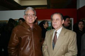 Alberto González Domene y Emilio Herrera