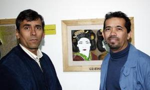 Cosme Ortega e Isaí Rodallegas.