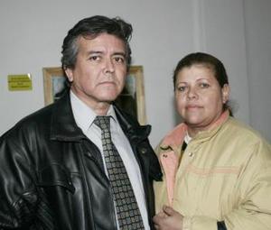 Jesús Quiroz y María Eugenia Herrera.