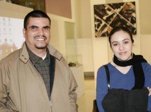 Luis Ibarra y Marisa Menchaca