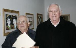 Luis Moneda y Carlos Delgado