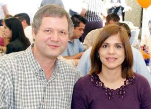 Gerardo Cobo y Josefina Puente.