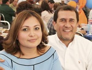 Lilia y Pedro Luis Bernal.