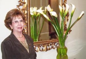 Aurorita Máynez Durán, captada en reciente festejo social.