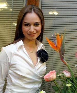 <b>09 de febrero de 2005</b> <p> Sofía Ramos Aldape contraerá matrimonop con Hugo Alberto Tovar Velasco el 12 de febrero