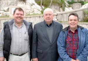 José Francisco Bredée Ortiz, Marcelo Bremer Sada y Fernando Bredée Ortiz.