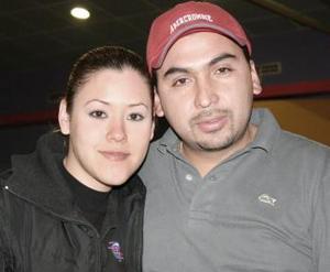 Carolina Cepeda y Carlos Anaya.