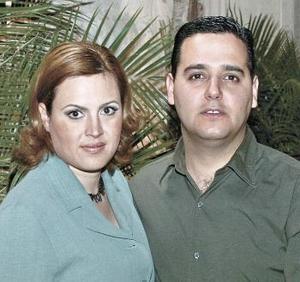 Malena zúñiga Mijares y Alberto Nájera Tejeda.