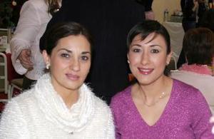 Georgina Treviño y Mayela Garza.