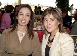 Verónica de Siller y Diana de Gavela
