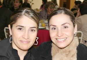Angélica de Ganem y Gracia de Díaz Vélez.