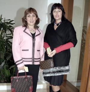 Ana Isabel de Quintanilla y Susana de Boheringer.