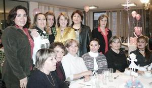 Liz, Mayela, Marth, Tere, Mireya, Patricia, Eloísa, Carolina, Alicia y Rebeca.
