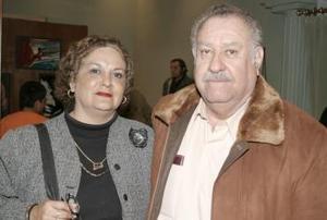 Basilio Ramírez y María Elvia Jiménez de Ramírez .