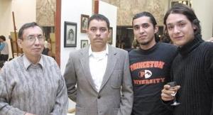 Tomás Ledezma, Juan José Franco, Gerardo Navarro y Emmanuel Torres.