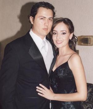 Esteysi Anaya Trevizo y Federico Sada.