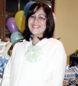Enna Alegría Galindo Lomelí recibió obsequios por el próximo nacimiento de su bebé.