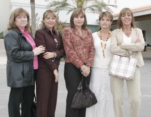 Mana Buchanon, Cova Murra, Maleny de Humphrey, Anita Segura y Regina Sétien.