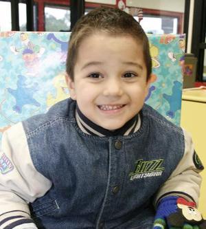 Luis Diego Segura Delgado, captado en un convivio infantil.