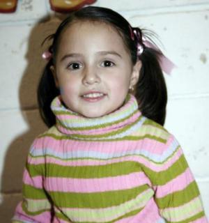 Débora Medrano Serna, captada el día de su piñata.