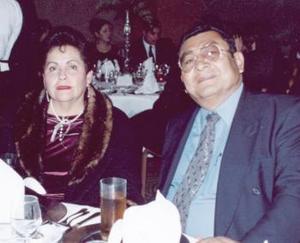 <b>14 de febrero de 2005</b> <p>  María del Carmen Iturriaga de Del Río y Rodolfo del Río Ruvalcaba.
