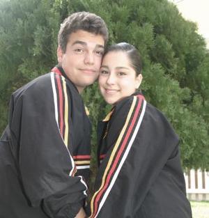Raúl Galindo y Salma Pacheco.