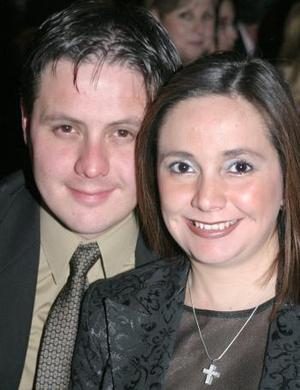 <b>14 de febrero de 2005</b> <p> Carlos Herrera y Ana Espinosa de Herrera.