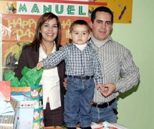 Víctor Manuel Escandón y Lupita Arellano de Escandón le organizaron una fiesta infantil a su hijo Victor Manuel Escandón Arellano, por sus tres años de vida.