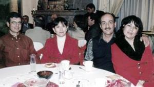 Marco y Alma Hernández, Gerardo y Lupita Moreno.