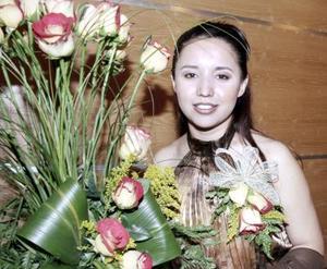 Angélica Lucero Martínez Silva recibió felicitaciones por su próximo matrimonio.