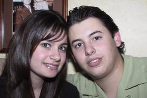 José Villalobos y Tanya Rueda.