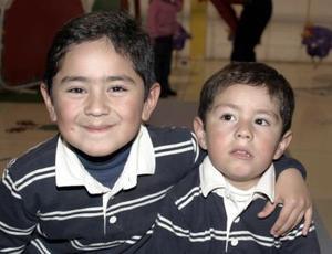 Alfonso y Francisco Vázquez.